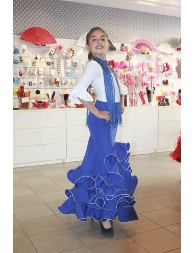 Jupe Cordou Blue
