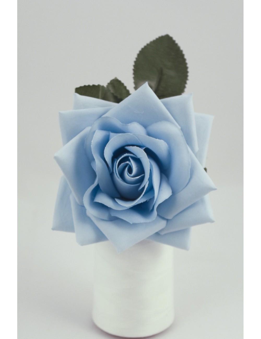 rose flamenco bleu ciel