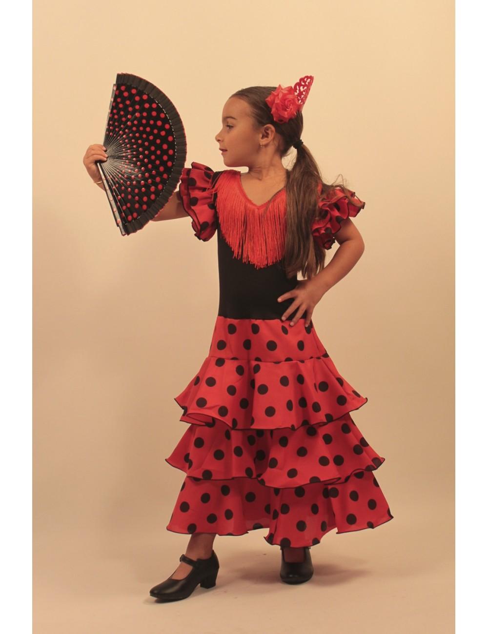 Robe déguisement flamenco enfant Féria 2