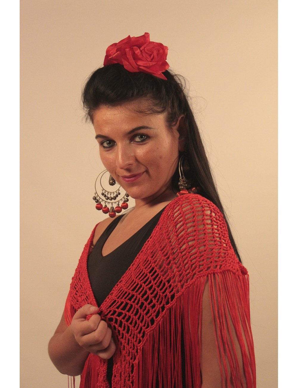 Châles flamenco Crochet