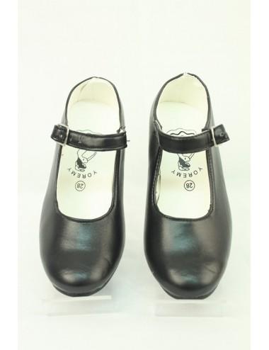 Chaussures de flamenco noires
