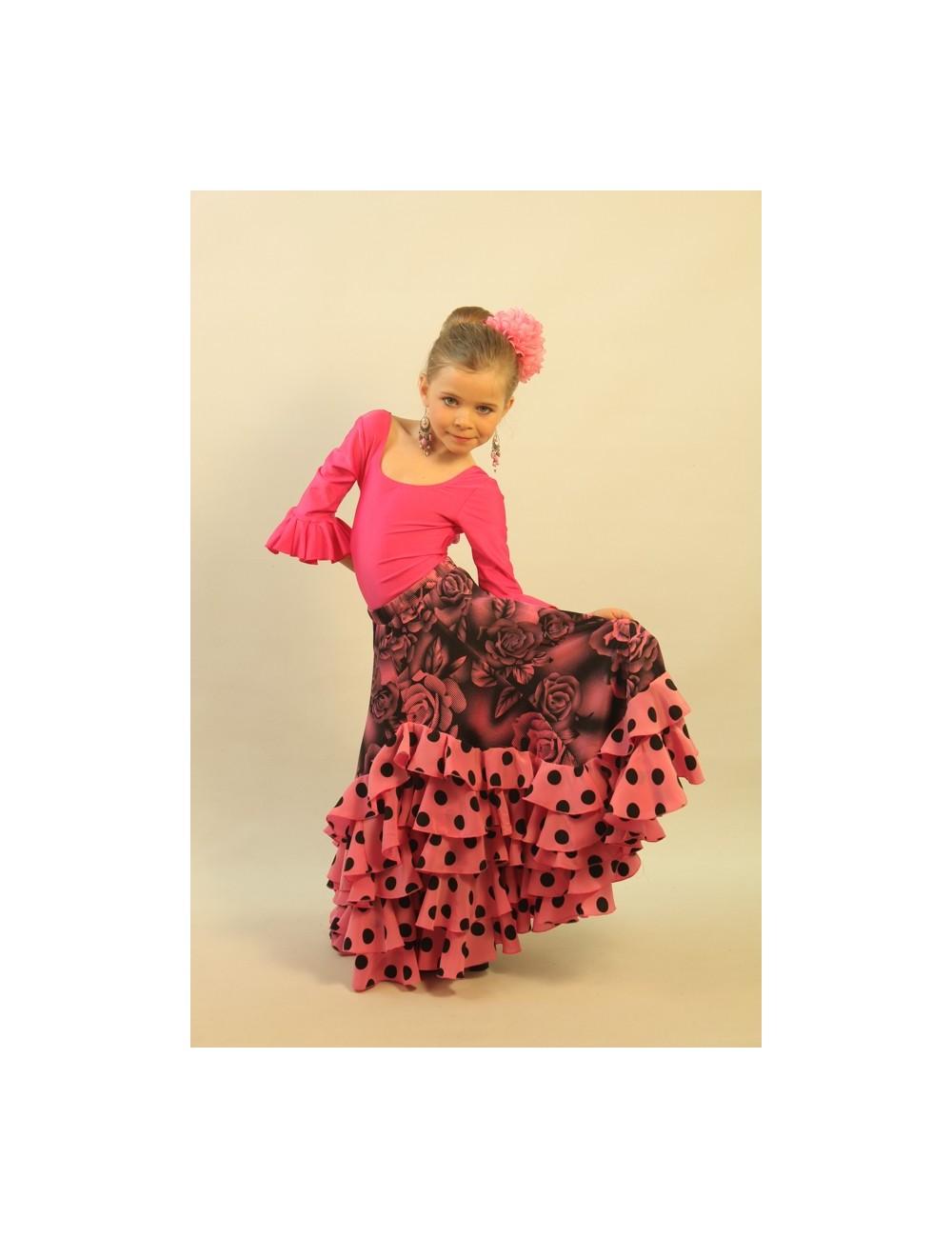 Kit Jupe et accessoires flamenco enfant Shiva