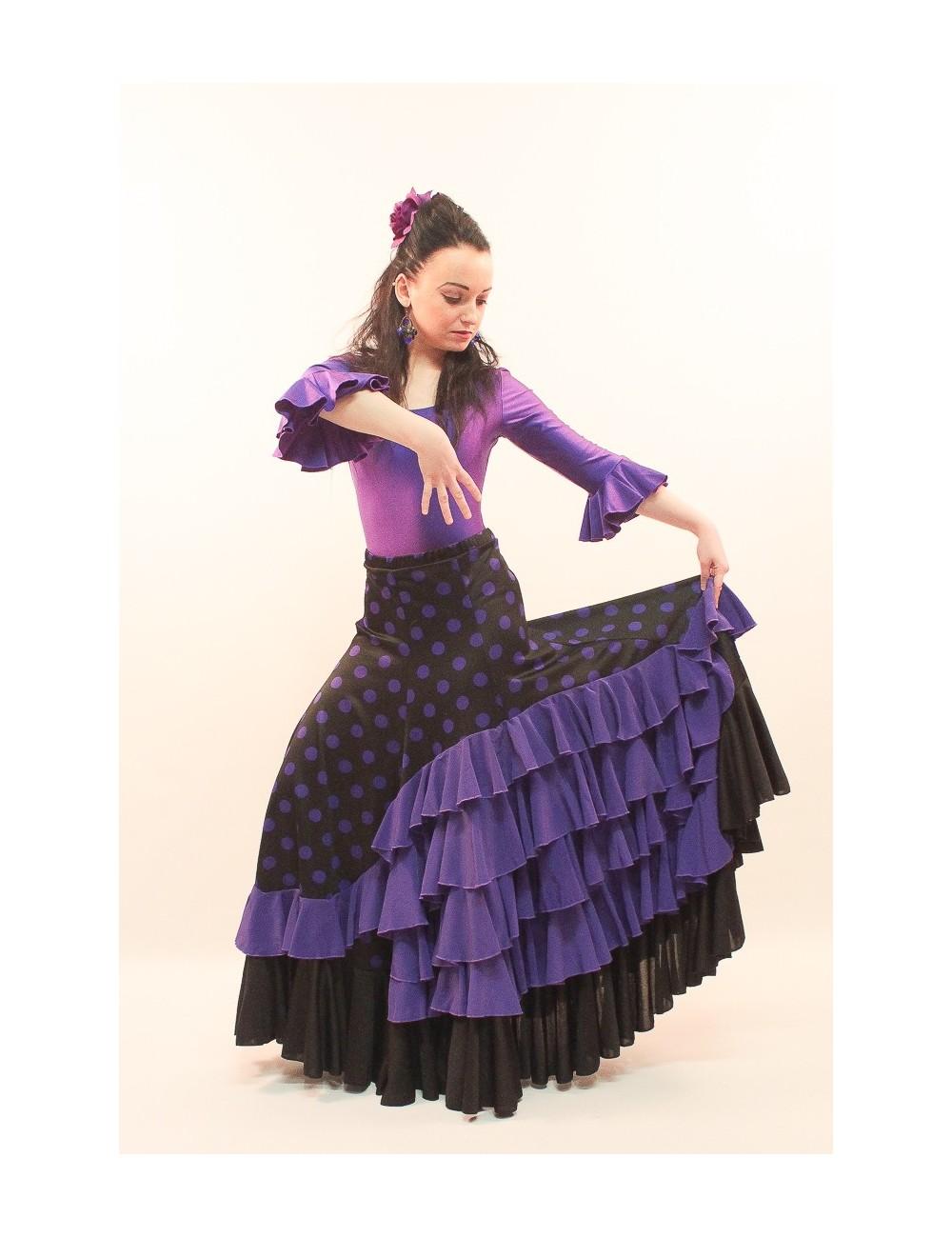 Jupe de flamenco Viola