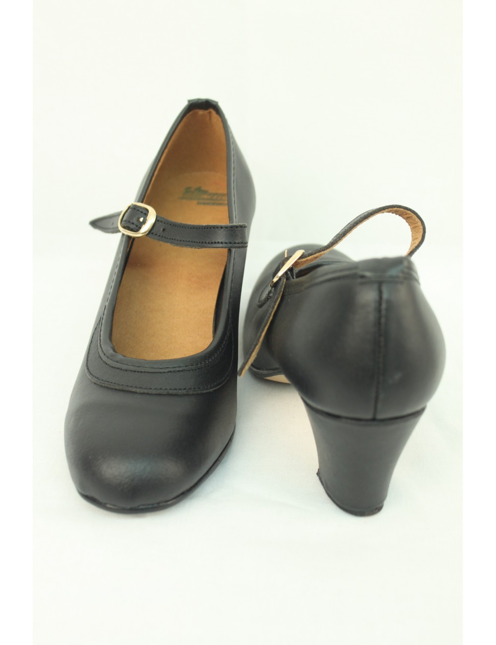Chaussures Noire Cuir