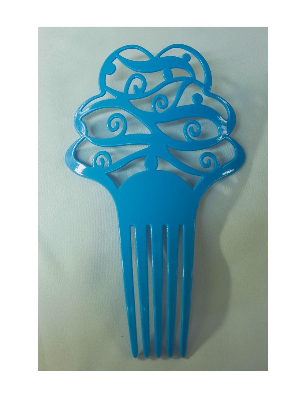 Peignetas 2 Bleu