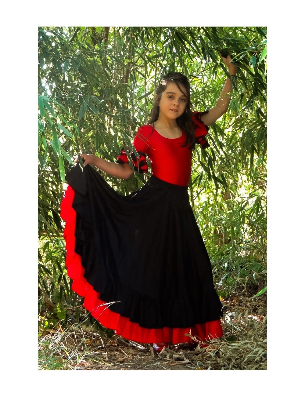Kit 2 tenue flamenco enfant Becky