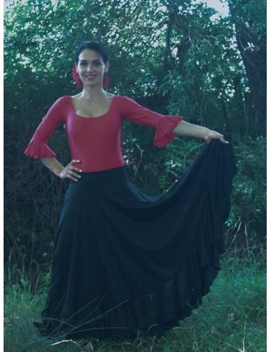 Jupe de répétition Flamenco Negra