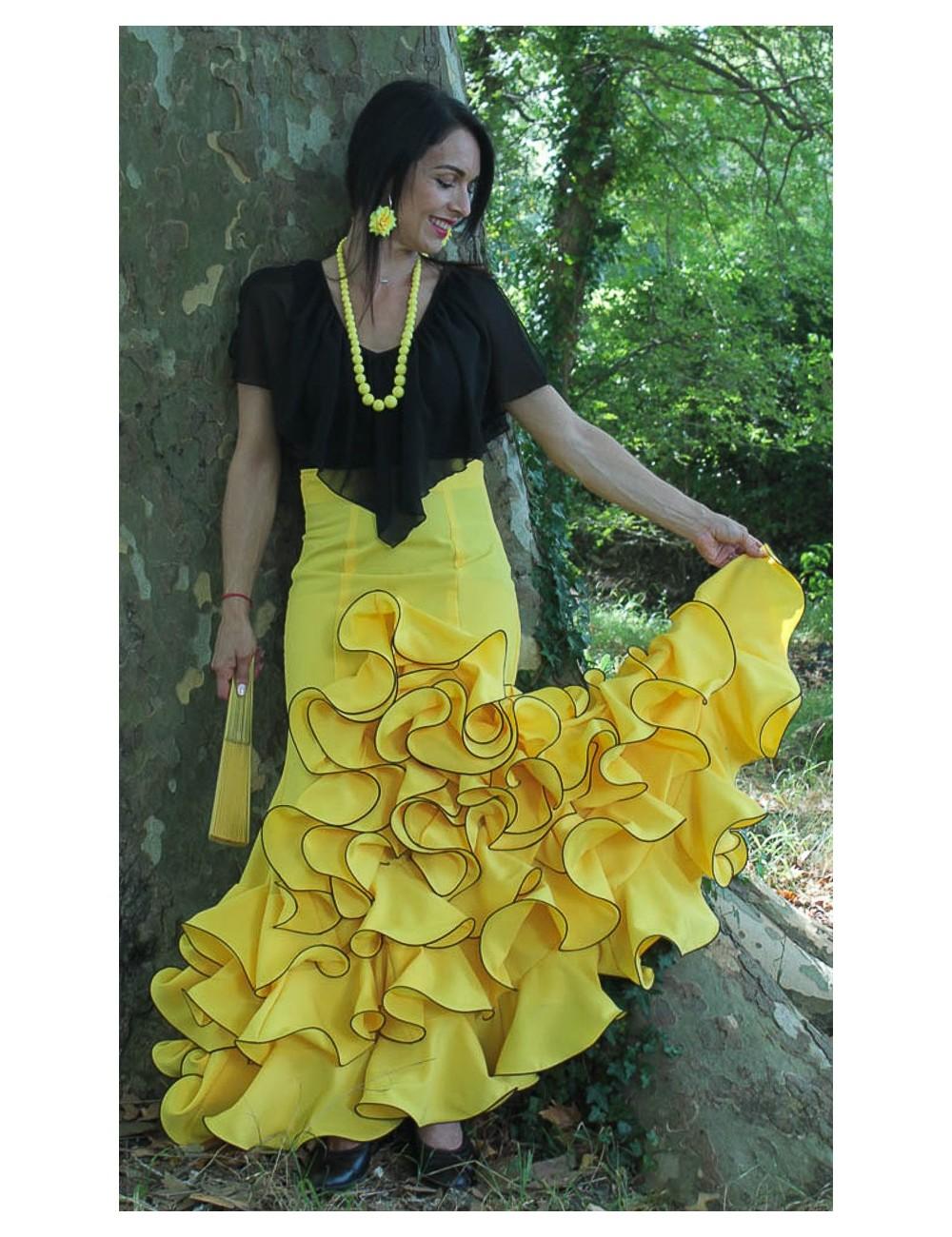 Jupe Cordou Amarilla