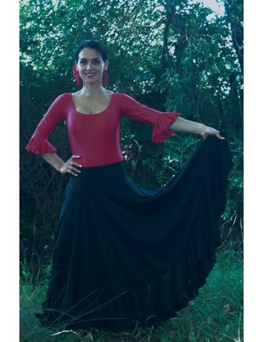 Kit tenue de danse flamenco jupe+body-2