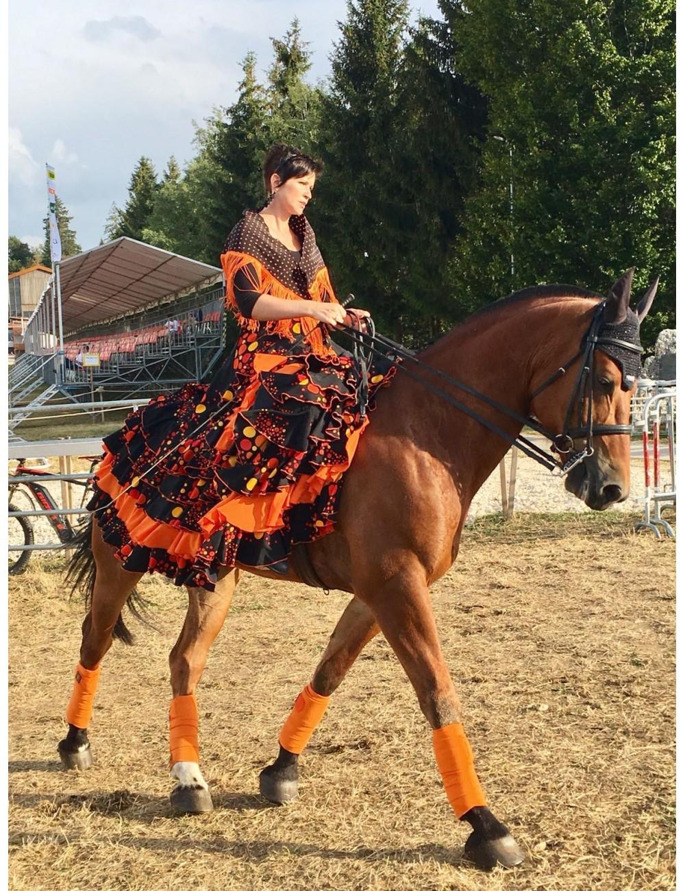 Jupe flamenco amazone Naja