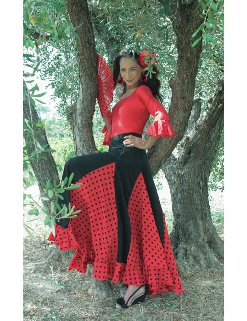 Jupe d'entrainement Mélodia Roja