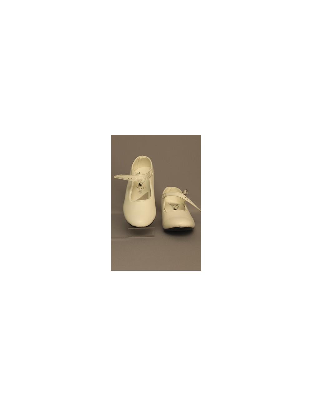 Chaussures de danse flamenco blanche