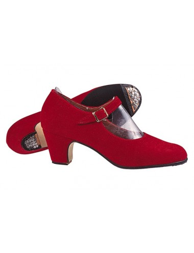 Chaussures rouge  Cuir Daim