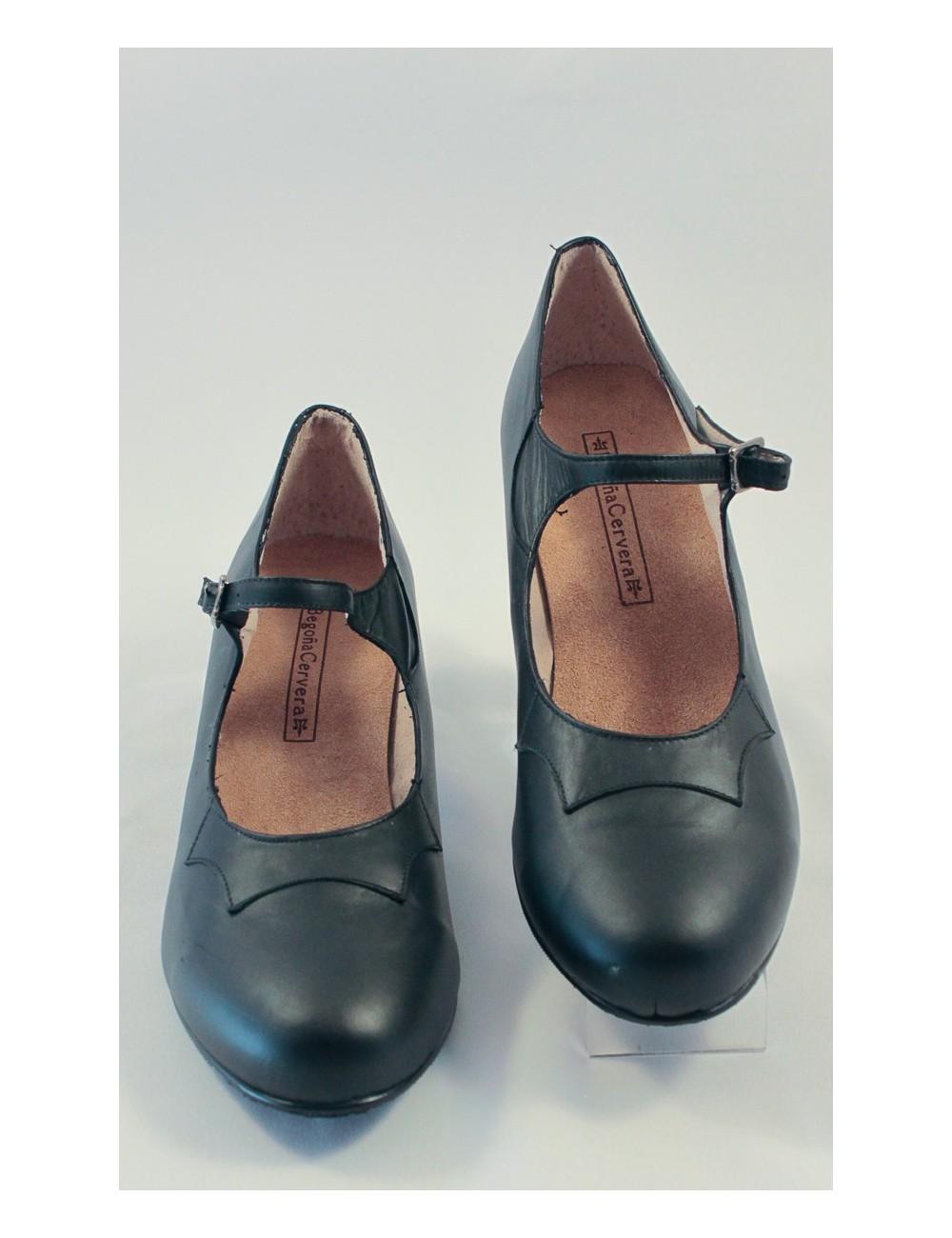 Chaussures de flamenco begona Cuir