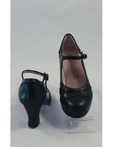 Chaussures  Begona Correa Bi Matière noires