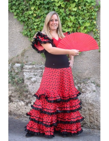 Déguisement robe de flamenco Adultes