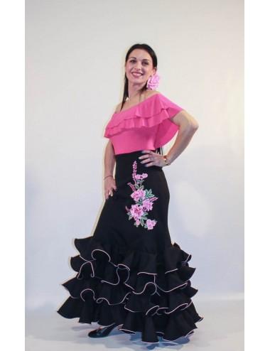Jupe flamenco Cordou Brodée F