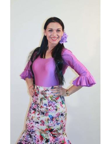 Jupe flamenco Cordou Fleurie