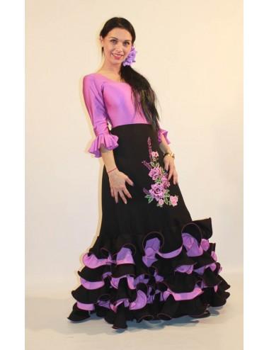 Jupe flamenco Cordou Brodée L