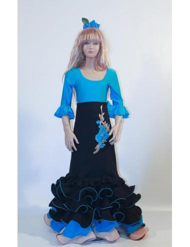 Jupe flamenco enfant Brodée