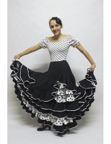 Jupe flamenco amazone Méline
