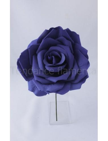 Rose de flamenco à tige 16 cm