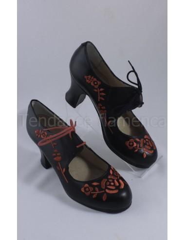 Chaussures flamenco Begona Cordonera M18 Bordado
