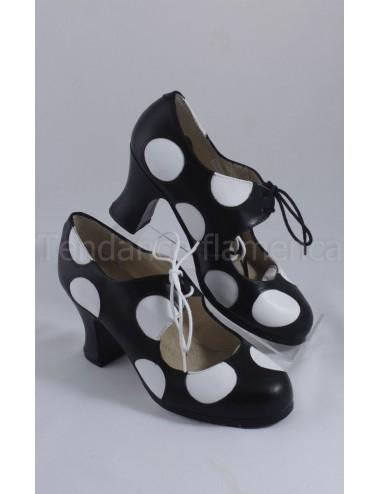 Chaussures flamenco Begona Cordonera M77 Lunares
