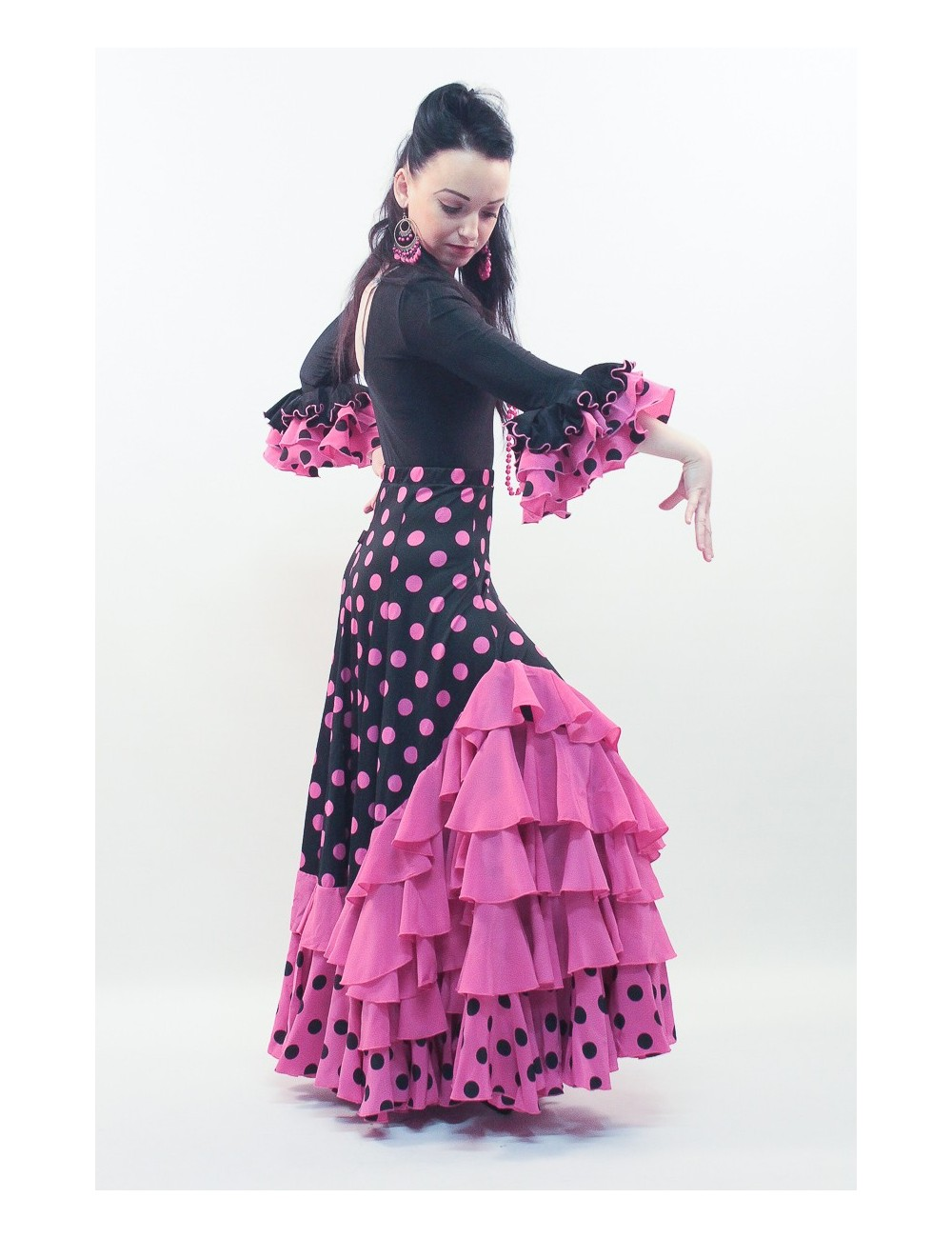 Jupe Flamenco Madrilène 2.1