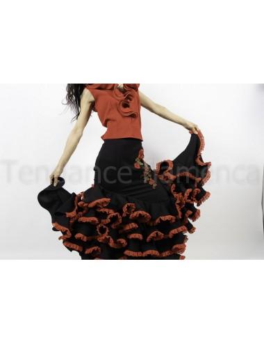 Jupe de flamenco Guapa dentelle 3