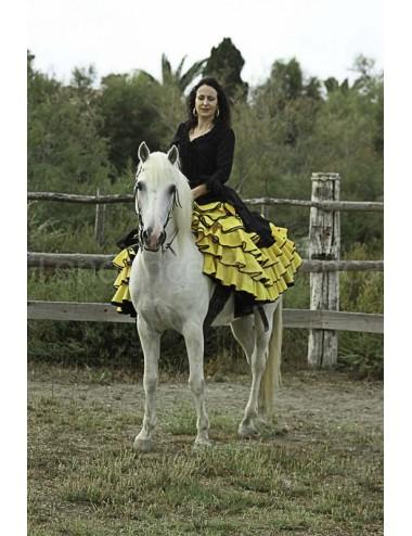 Jupe flamenco amazone Amaro