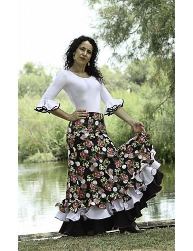 Jupe flamenco Cordou Florilège