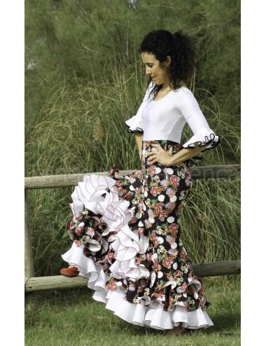 Jupe flamenco Cordou Florilège 2