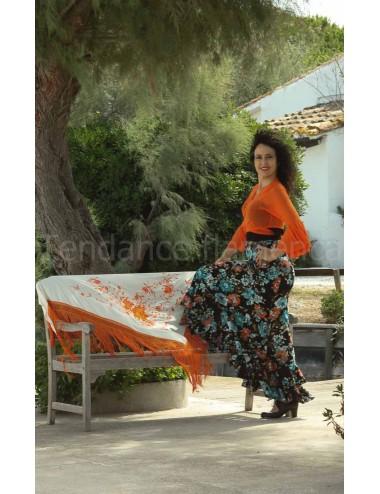 Cache-coeur Rosso Orange