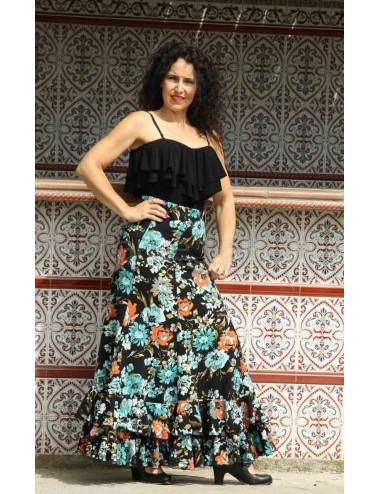 Jupe flamenco Cordou Flava 2
