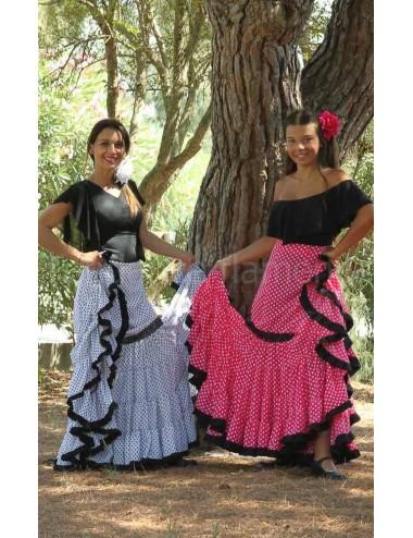 Jupe flamenco Paloma