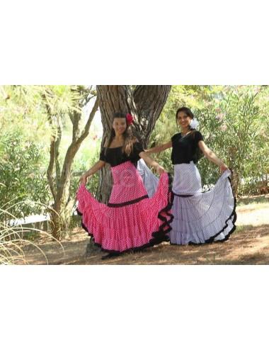 Jupe flamenco Paloma Rose