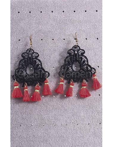 Bijoux Flamenca à Pompom