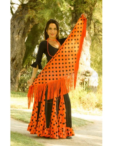 Panuelo Noir pois Orange