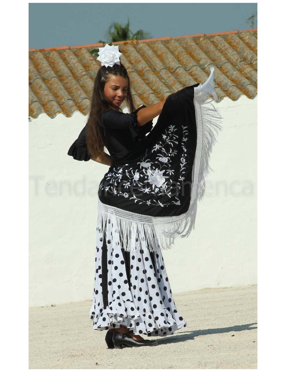 Jupe Mélodia Blanca