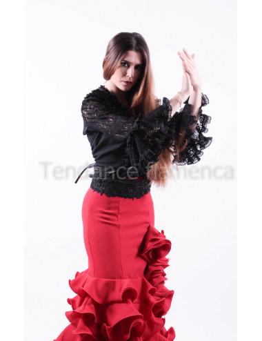 haut flamenca dentelle