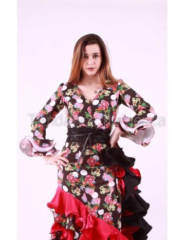 haut Flamenca Lisa Carmen