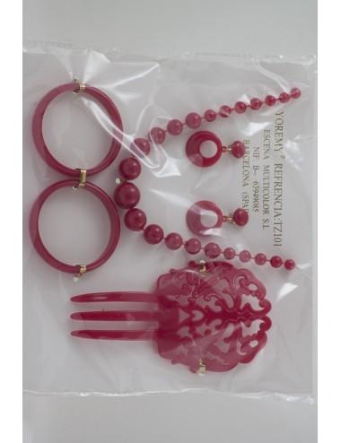 Kit Bijoux  rouge enfant