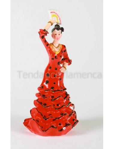 Figurine en résine danseuse