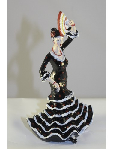 figurine 11 noir pois rouge 2