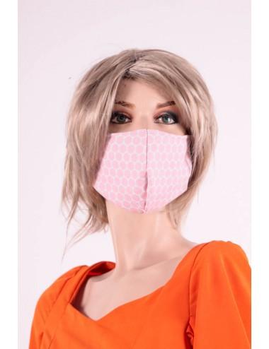 Masque  Covid 19 modèle femme