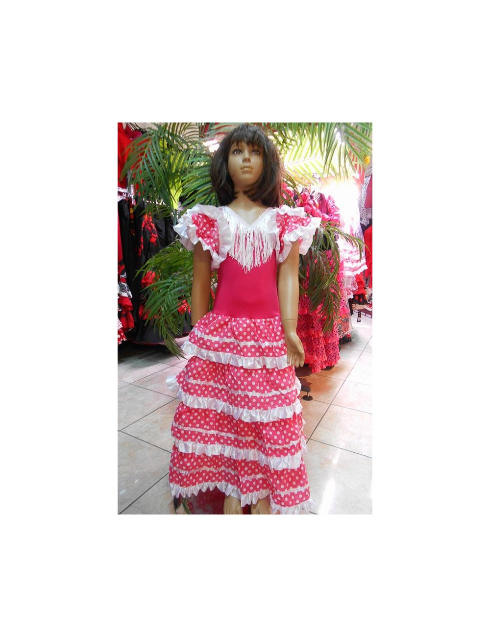 Kit Déguisement robe flamenco & accessoires 19