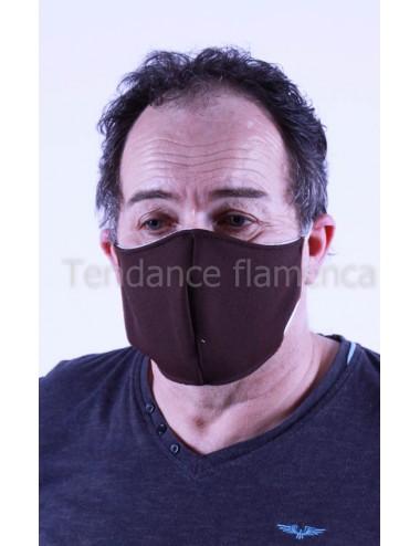 Masque covid 19 Homme couleur noir