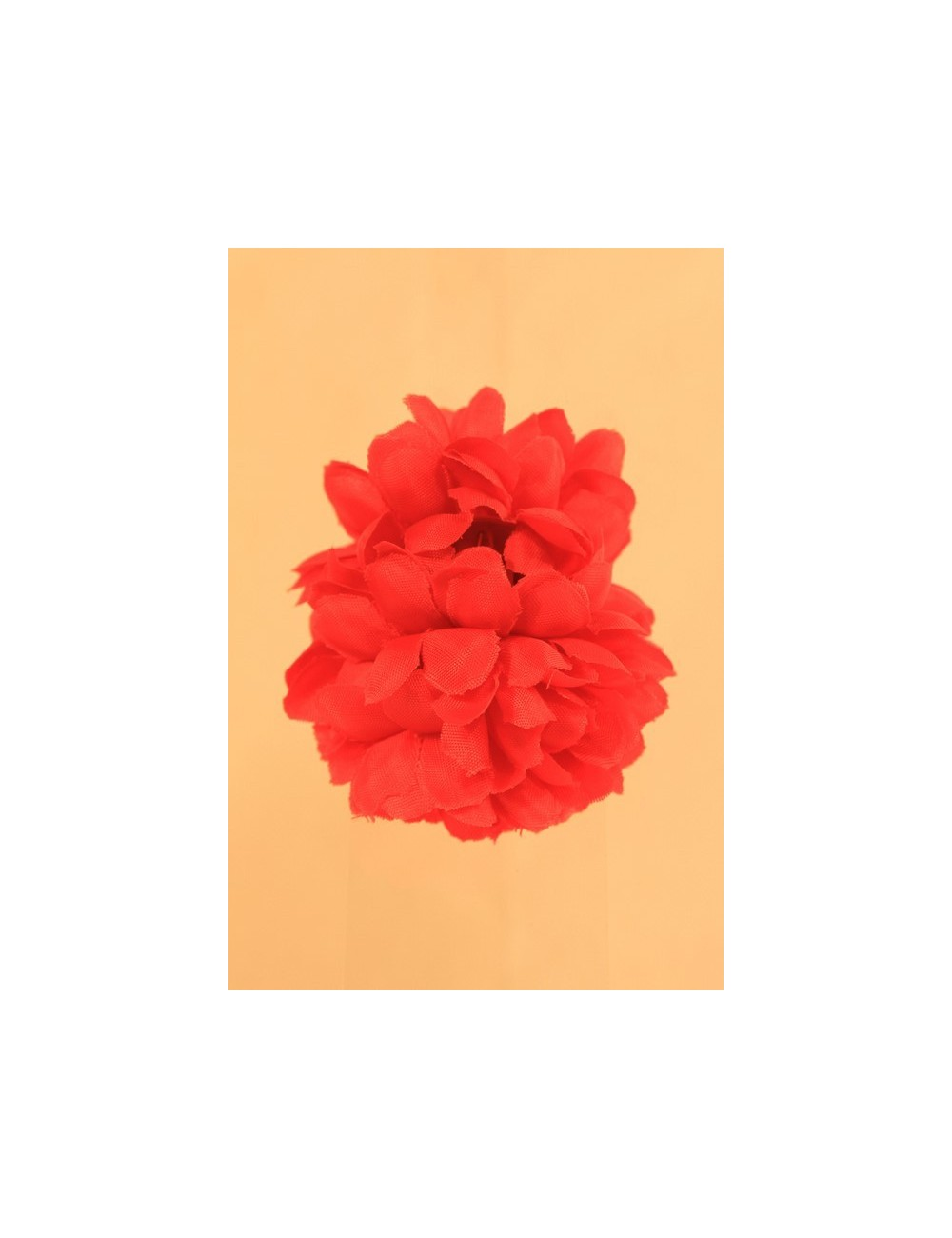 Fleurs à pince uni