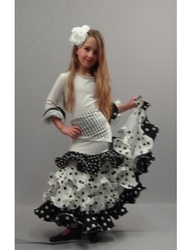Robe Noella Blanc Noir